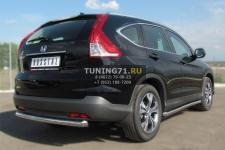 Honda CR-V 2013 пороги труба d63 (вариант 1) HVT-0013401